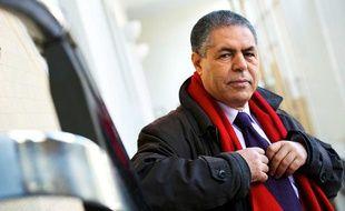 Malek Chebel, anthropologue des religions et philosophe algérien, le 9 mars 2012 à Paris.