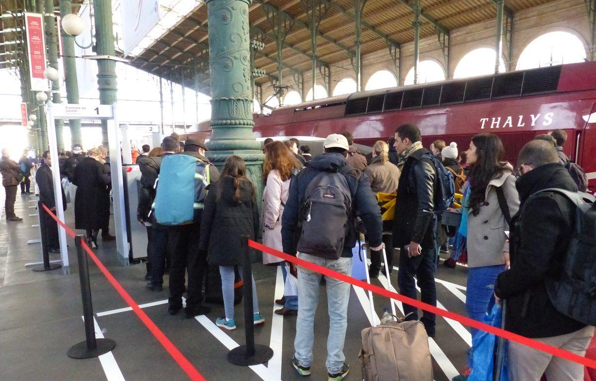 Les douaniers ont fait une découverte inattendue en examinant la valise d'un Brésilien qui s'apprêtait à monter dans le Thalys. (Photo illustration) – F. Pouliquen / 20 Minutes
