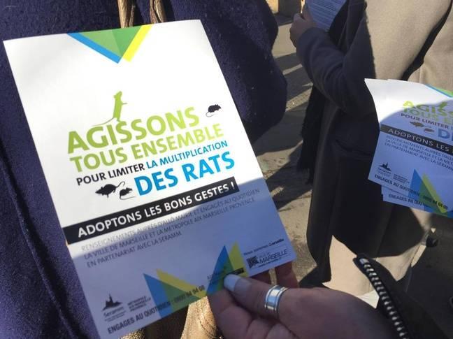 Le tract distribué aux Marseillais