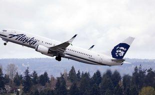 Le 24 mars 2015, un avion d'Alaska Airlines. AP Photo/Elaine Thompson