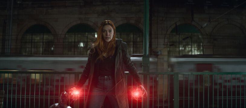 Wanda et Vision dans le film Avengers : Infinity Wars