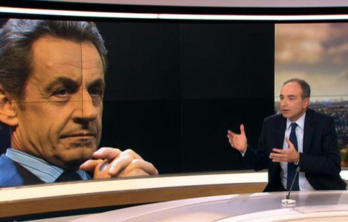 L'ancien président de l'UMP, Jean-François Copé, sur le plateau du 20H de France 2, le 14 février 2016 – - -
