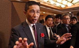 Hiroto Saikawa, PDG de Nissan, le 7 janvier 2019.