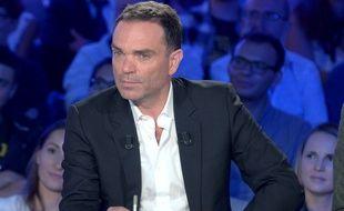 Yann Moix, chroniqueur dans On n'est pas couché sur France 2.