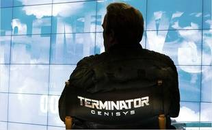 Arnold Schwarzenegger sur le tournage Terminator Genysis