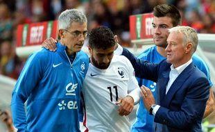 Franck Le Gall (à gauche) est aussi le médecin de l'équipe de France