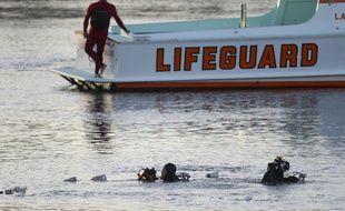 Ali Elmezayen est soupçonné d'avoir précipité sa voiture dans l'eau à San Pedro, le 9 avril 2015.