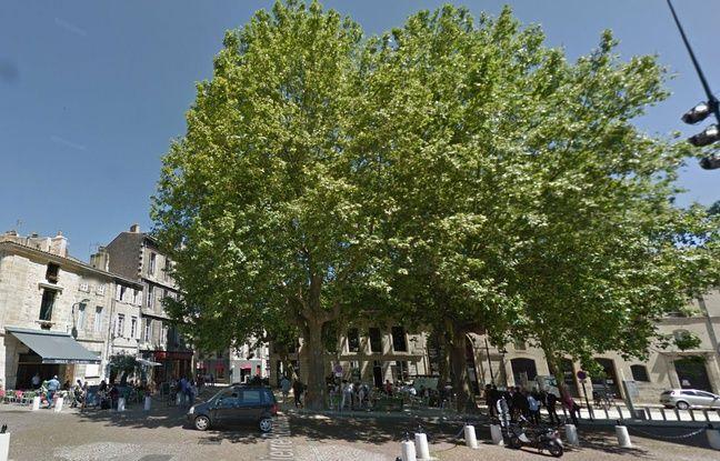 Les jeunes prostitués se rencontraient notamment sur la place Pierre Renaudel, à Bordeaux.
