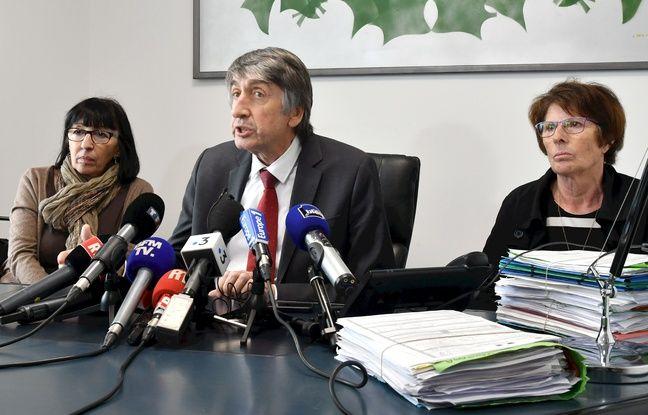 Conception Gonzalez (à droite), aux côtés de son avocat, maître Etienne Nicolau
