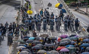 Manifestation à Hong Kong ce lundi