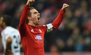 Le capitaine du Bayern Munich Philip Lahm, le 12 décembre 2015.