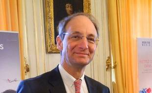 Pascal Personne, directeur de l'aéroport Bordeaux-Mérignac.