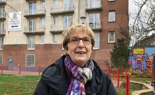 Nicole Baudrin, candidate Lutte ouvrière à Lille.