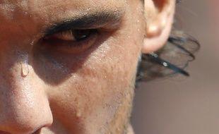Le joueur de tennis espagnol Rafael Nadal  lors du tournoi de Roland Garros le 3 juin 2013.