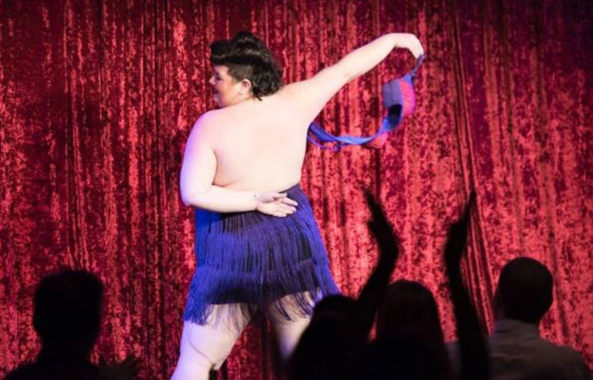 Une simple photo de show burlesque à l'origine du body shaming – capture d'écran Instagram