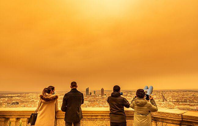 Actualités - Météo : Un nouveau nuage de sable du Sahara fonce sur la France