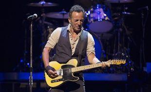 L'artiste Bruce Springsteen en concert à Perth en Australie