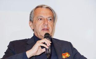 Daniel Bilalian, qui a crée la polémique avec ses commentaires, le 24 janvier 2015.