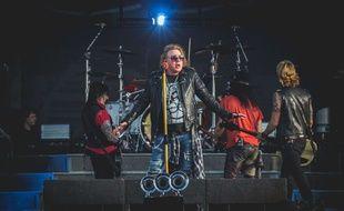 Guns N' Roses au Download Festival en juin 2018.