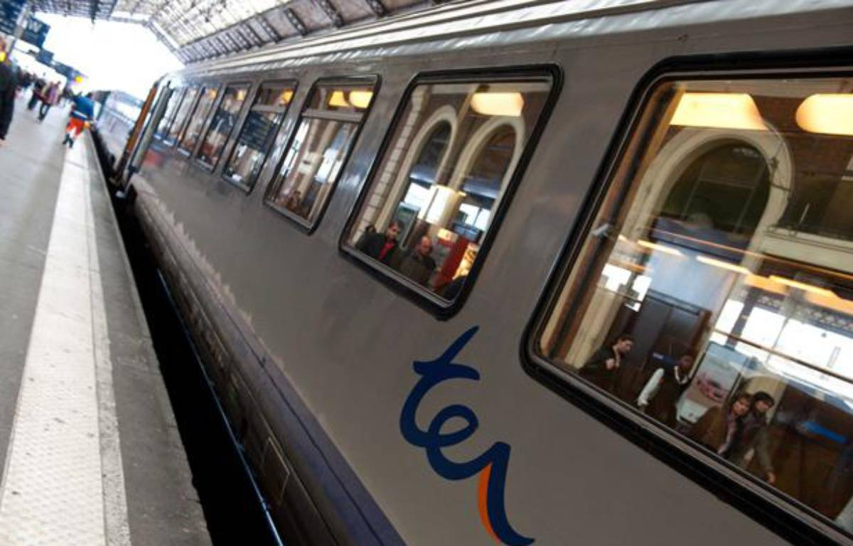 Illustration d'un TER en gare de Toulouse – LANCELOT FREDERIC/SIPA