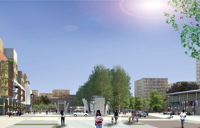 Image d'illustration de la future place de Zagreb.