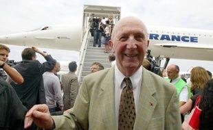 André Turcat, premier pilote du Concorde.