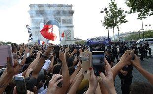 Les Bleus ont descendu les Champs-Elysées après leur victoire en Coupe du monde