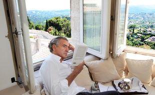 Bernard-Henri Lévy à Saint-Paul-de-Vence en juillet 2013.