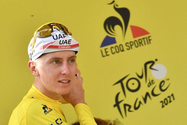 Tadej Pogacar, le maillot jaune du Tour de France.