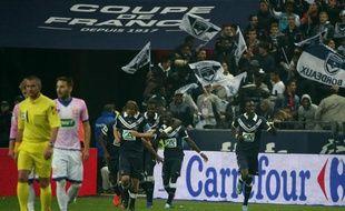 Bordeaux finit sa saison sur une bonne note, le 31 mai 2013 à Saint-Denis.