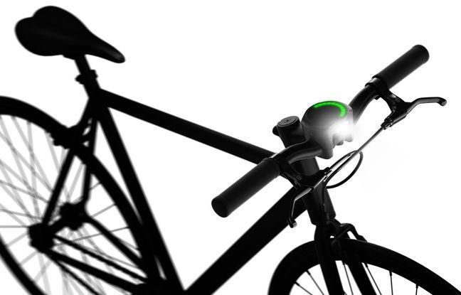 Smarthalo: les LED indiquent la bonne direction à suivre.