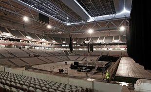 Le parquet va être posé dans l'Arena du stade Pierre-Mauroy