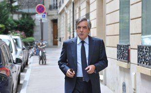 François Fillon à Paris, le 29 juin 2020.