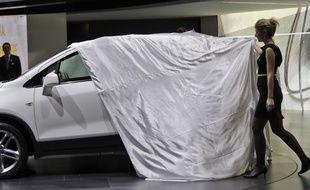 Illustration. Opel Mokka.