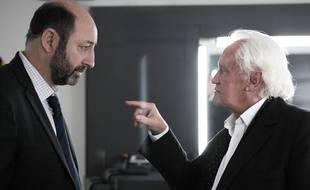 Kad Merad et Niels Arstrup dans la série Baron Noir sur Canal+