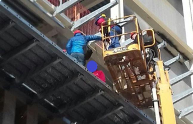 Les trois personnes «encadrantes» d'un gros chantier à Toulon.