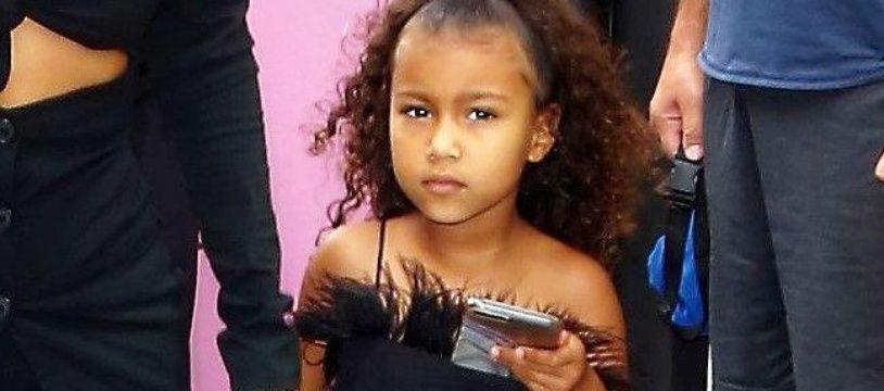 North West, la fille de Kim Kardashian et du rappeur Kanye West, à Hollywood.