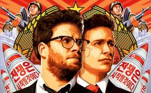 L'affiche du film de Sony «The Interview», avec Seth Rogen et James Franco.