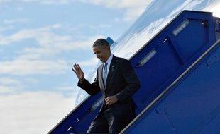 """Barack Obama a affirmé mercredi que c'était aumonde entier de faire respecter la """"ligne rouge"""" interdisant le recours aux armes chimiques, et a appelé ses partenaires à ne pas rester silencieux face à la """"barbarie"""" en Syrie."""