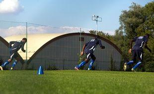 Des jeunes joueurs de l'AJ Auxerre (illustration).