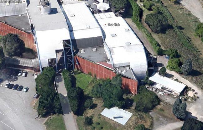 Photo aérienne des discothèques de Sesquières.