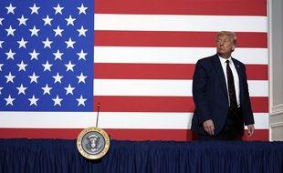Donald Trump à Washington, le 30 juillet 2020.