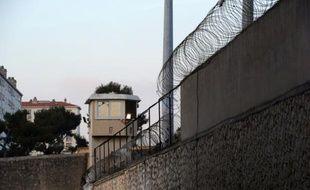 Un mirador à la prison des Baumettes, le 8 janvier 2013 à Marseille