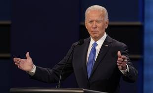 Joe Biden lors du débat le 22 octobre 2020.