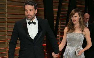 Ben Affleck et Jennifer Garner le 2 mars 2014.