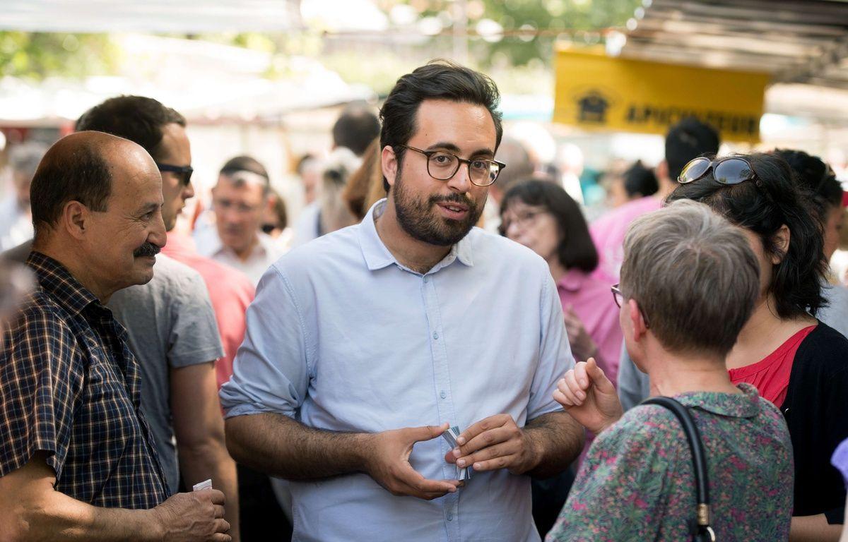 Mounir Mahjoubi, le 28 mai 2017 à Paris. – CHAMUSSY/SIPA