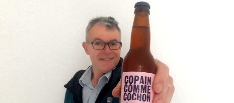 Dominique Bourneuf, restaurateur à l'initiative de la bière aux rillettes.