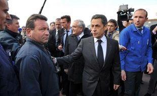 """Nicolas Sarkozy a assuré mardi qu'il était favorable à l'indépendance de la Banque centrale européenne (BCE), mais qu'il était nécessaire en contrepartie """"d'ouvrir un dialogue"""" avec elle au sujet de son rôle dans le soutien à la croissance économique en Europe."""