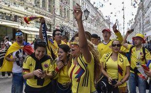 Les supporters colombiens veulent faire aussi bien qu'en 2014.