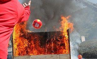 La société Elide Fire commercialise la boule anti-feu